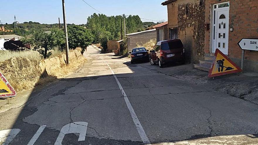 Arrancan las obras  de la carretera entre Junquera y San Pedro