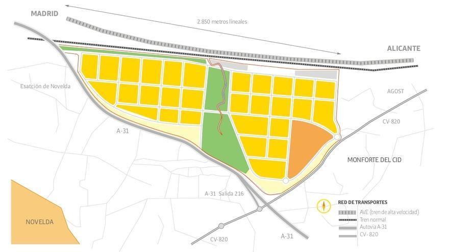 Novelda, ubicación estratégica para la proyección industrial