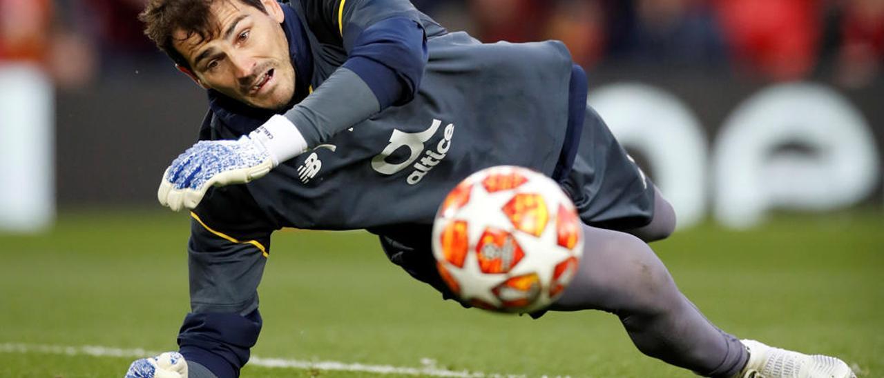 Iker Casillas sufrió un infarto este miércoles.
