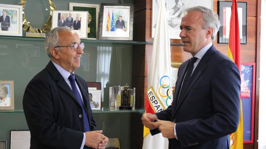 El proyecto olímpico de Aragón y Cataluña tendrá que estar listo antes del 20 de febrero