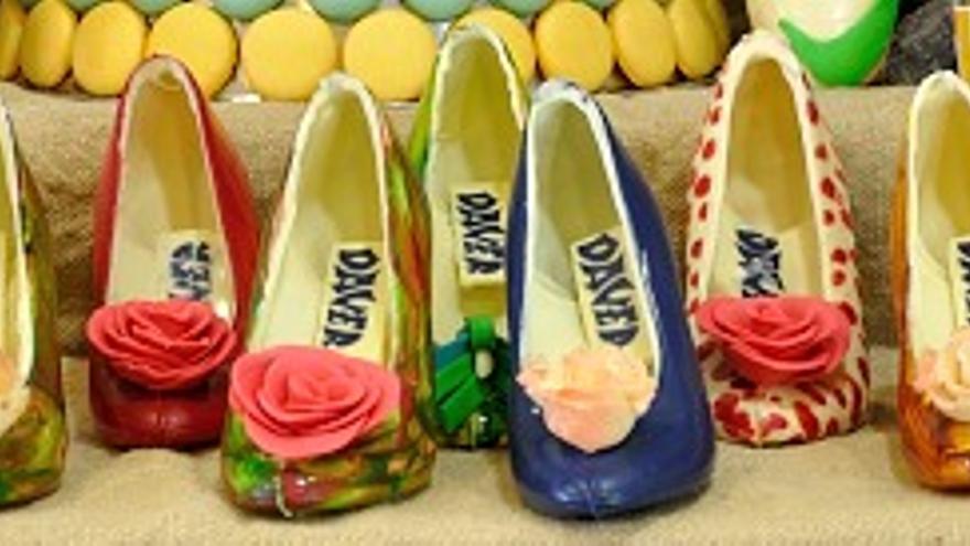 Confitería Daver: los zapatos de tacón más dulces
