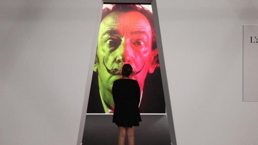 L'exposició retrospectiva de Salvador Dalí a Mònaco ha rebut 80.000 visitants