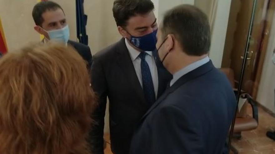 La pequeña disputa dialéctica entre Luis Barcala y el ministro Ábalos
