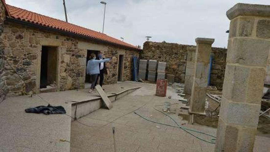 Las obras de recuperación del Priorato de Arra entran en su recta final y está previsto que finalicen en junio