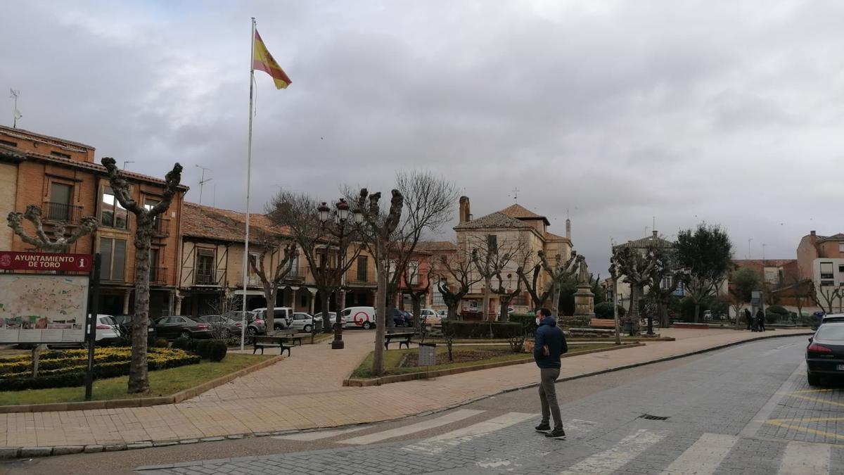 Plaza de Santa Marina en Toro
