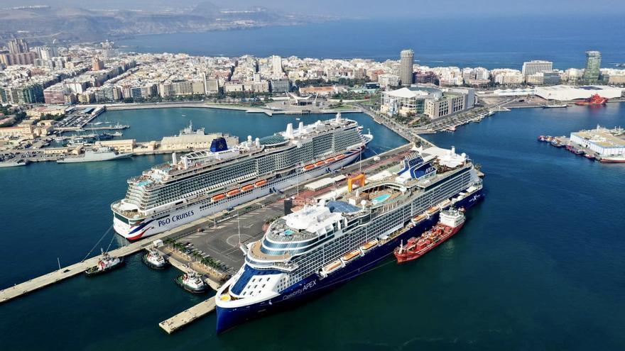 Dos colosos recién construidos dan impulso a la temporada de cruceros