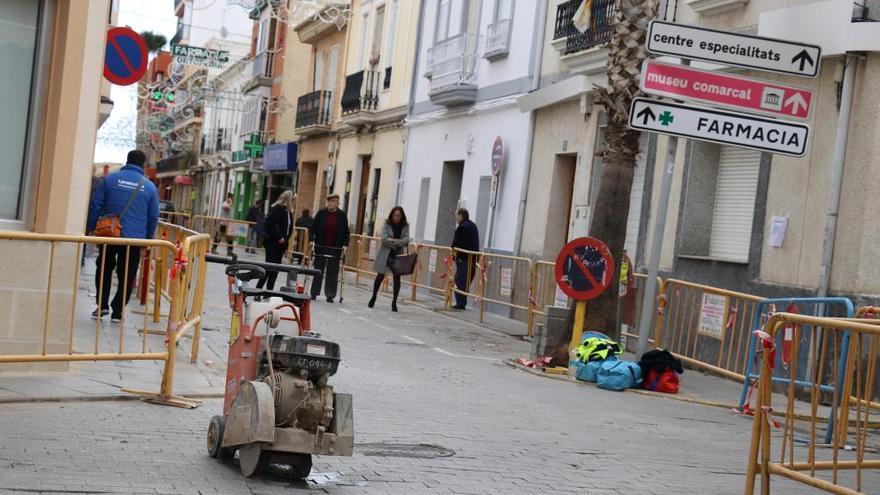 Comienza la remodelación de la calle Santos Patronos de Torrent
