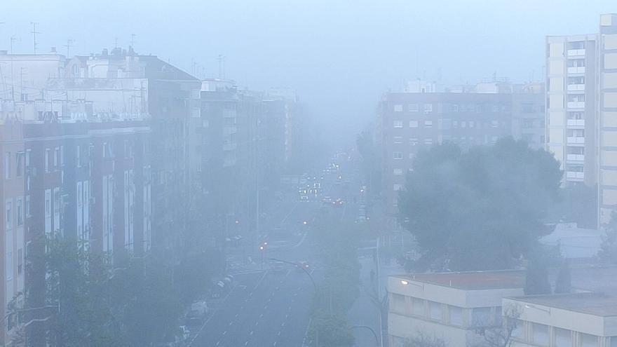 Fotos de la niebla de hoy en València
