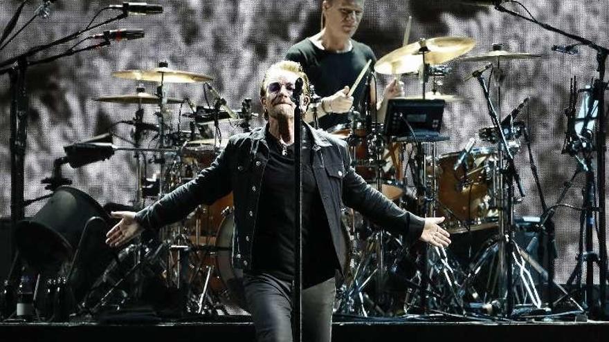 U2, el grupo más taquillero del 2017