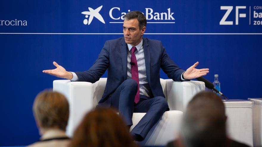"""Sánchez: """"La discordia partidista y territorial es un lastre económico"""""""