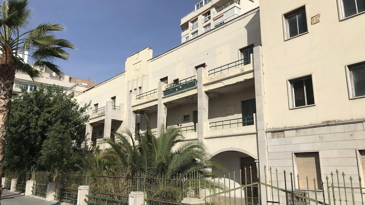 Antigua sede del Gobierno Militar de Málaga.