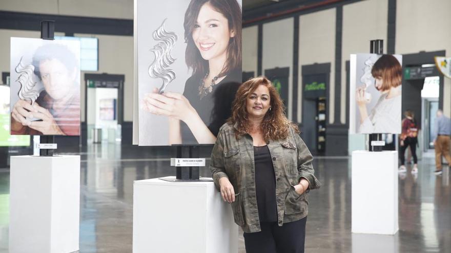 Exposición sobre el Festival de Cine de Alicante de Cristina Mariscal
