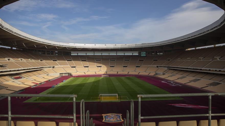 La Cartuja de Sevilla albergará a 16.000 espectadores en los partidos de la Eurocopa