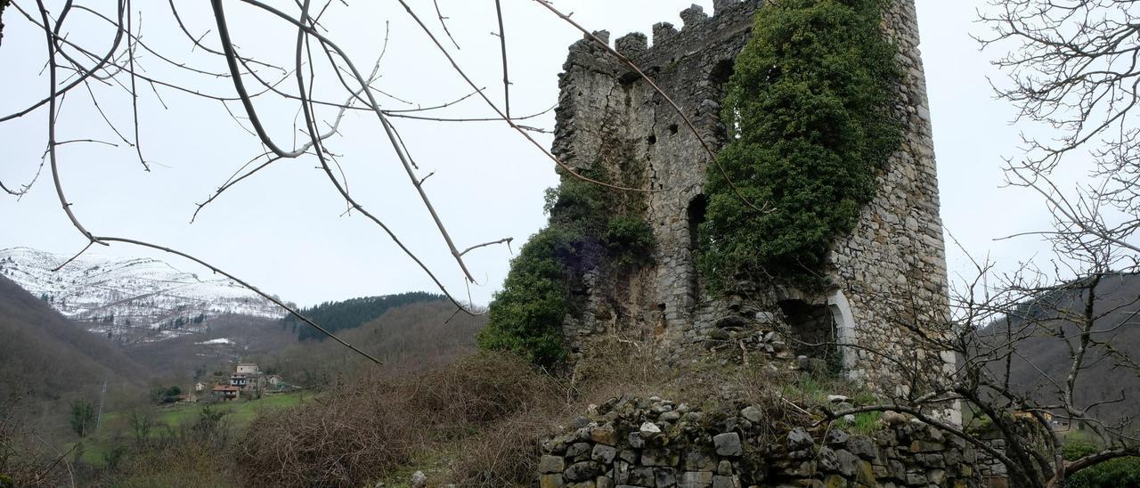 El estado actual de la torre de Soto. | LNE