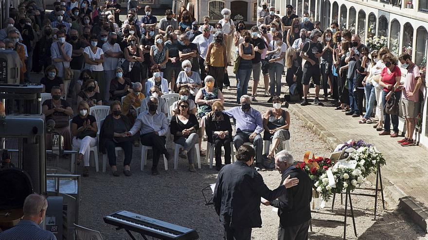 Berga dona un càlid adeu a Jordi Cussà