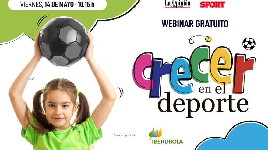 """Resúmen Webinar """"Crecer en el deporte"""""""