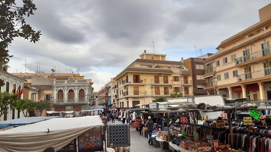 Paterna amplía los puestos del mercado ambulante