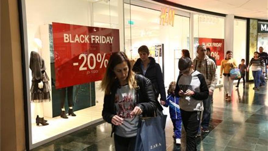 Así están las tiendas de Castellón en el Black Friday
