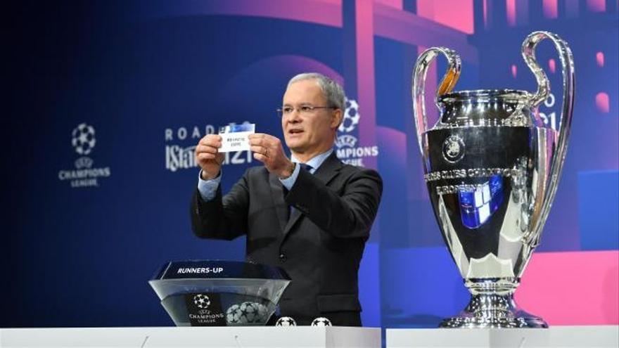 Data, horari i on veure a la TV i online el sorteig de la Champions