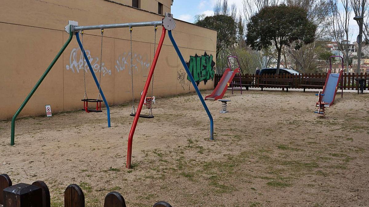 Parque infantil de Cabañales por el que la empresaria reclamaba casi 5.000 euros.