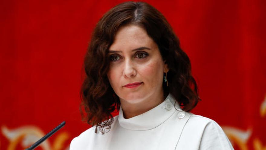 """Ayuso, sobre Juan Carlos I: """"No todos somos iguales ante la ley"""""""