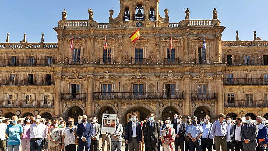 Salamanca recuerda a Miguel Ángel Blanco 24 años después de su asesinato