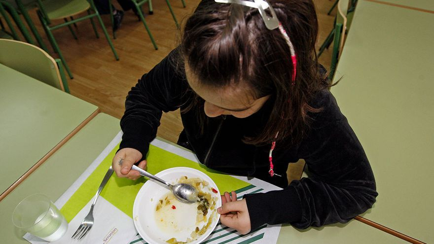 Siete de cada diez familias ya piden servicio de comedor escolar o aula matinal para conciliar