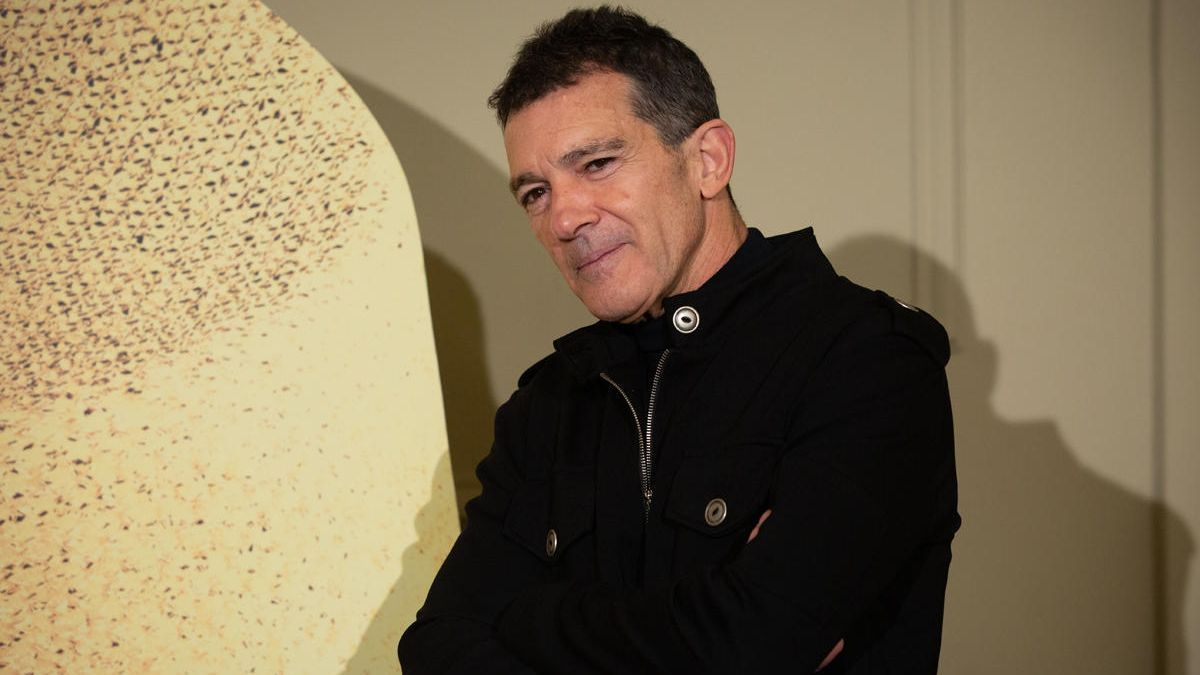 El actor, director y productor malagueño Antonio Banderas.