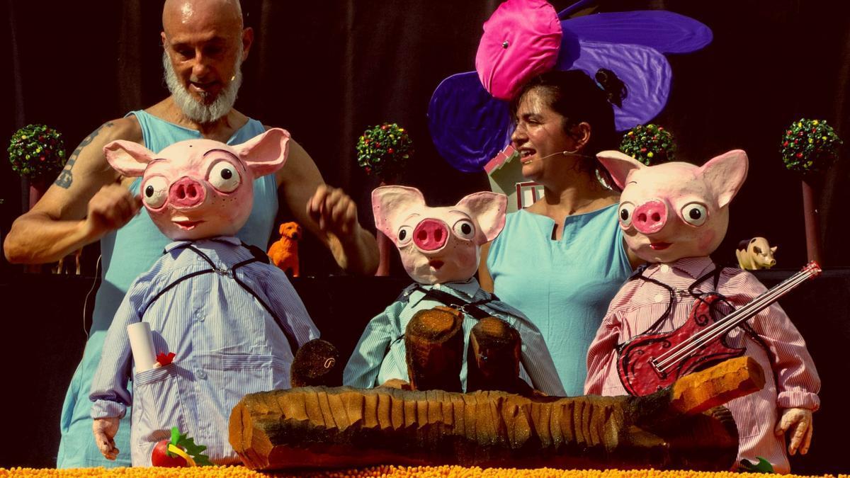 'Las tres cerditas', de Xarop Teatro