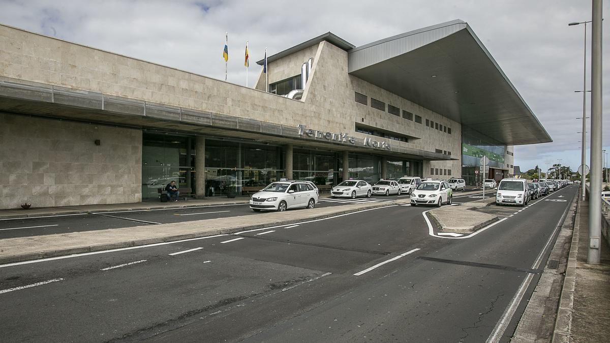 Terminal del aeropuerto Tenerife Norte Ciudad de La Laguna.