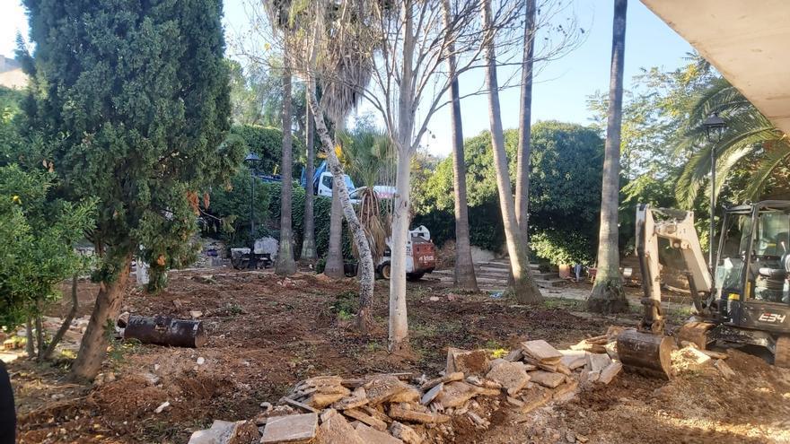 Sencelles reforma con urgencia el cementerio tras las tareas de exhumación