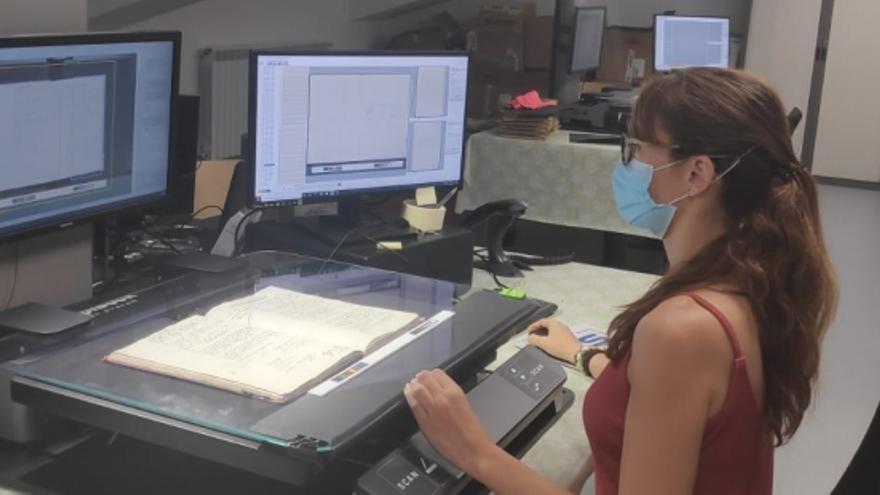 Arranca en Teruel la digitalización de los registros civiles