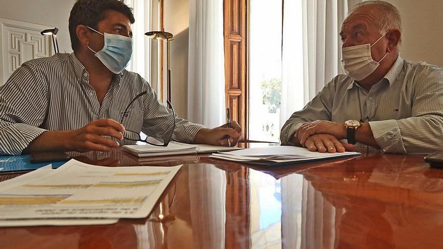 La Diputación transfiere las ayudas del Plan Resistir con dos meses de retraso