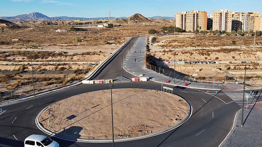 Las obras para rematar la Vía Parque en el PAU 1 arrancan a ritmo lento