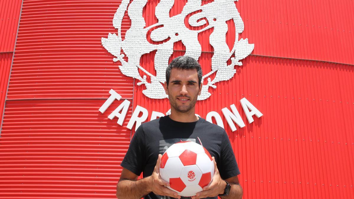 Pedro del Campo, futbolista del Nàstic