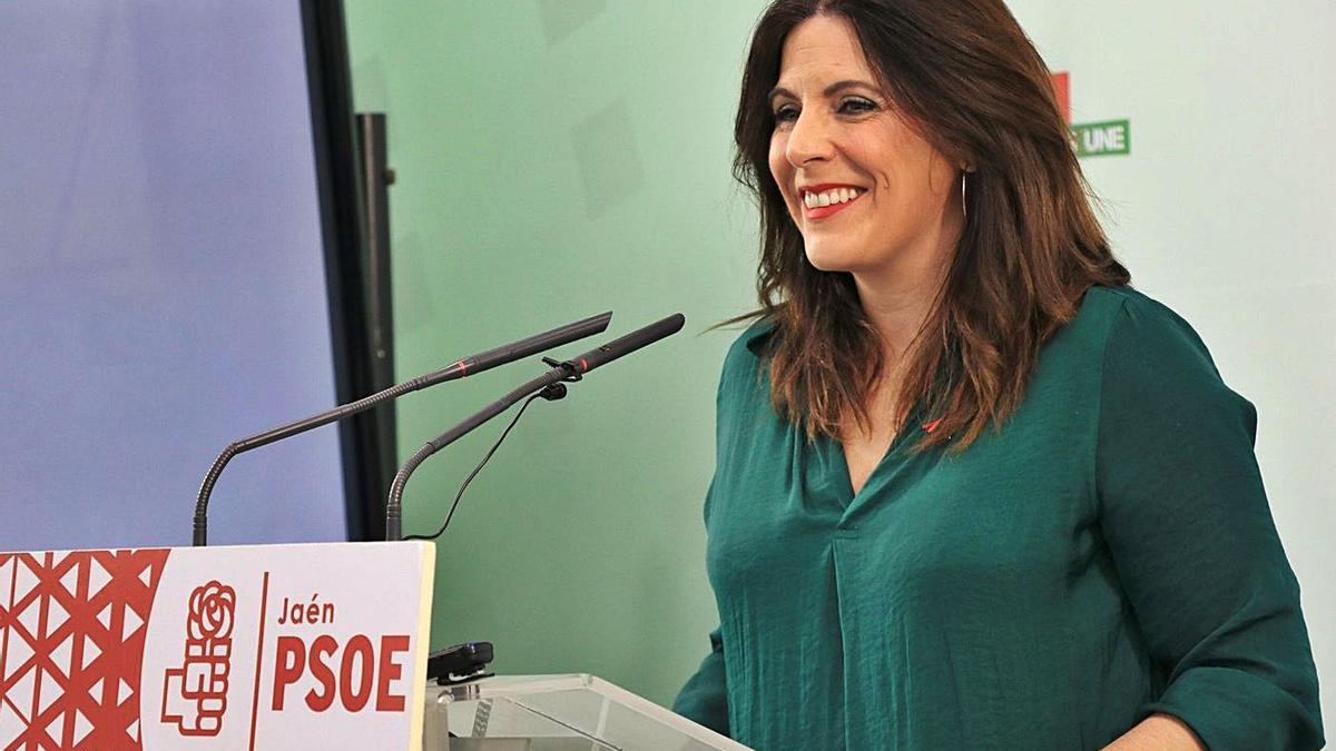 La parlamentaria andaluza del PSOE-A Ángeles Férriz, en una foto de archivo.