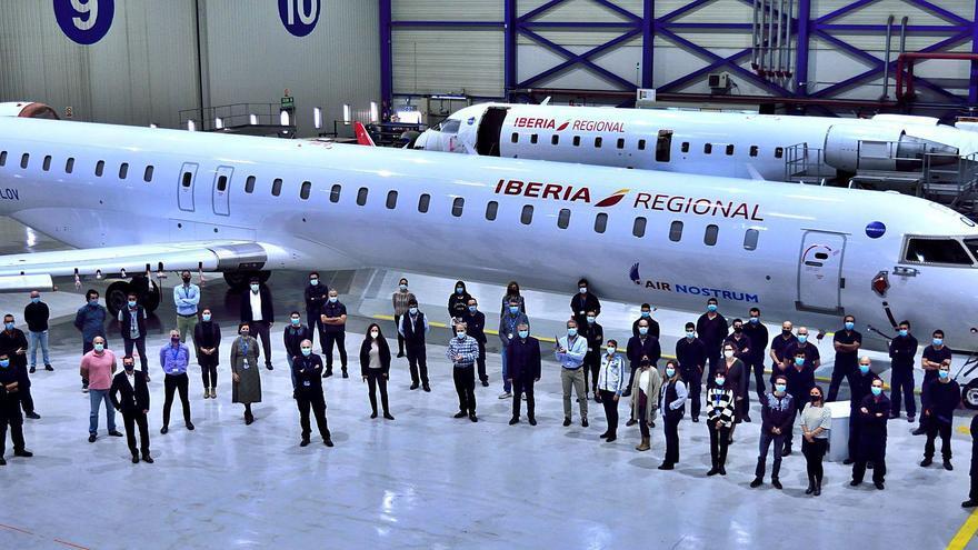 Air Nostrum lanza un plan para garantizar su viabilidad futura