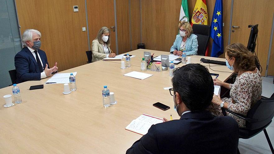 Abogados y Junta tratan la agilización de las conciliaciones del CMAC