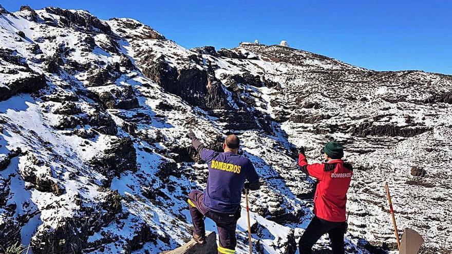 Buscan al desaparecido de La Palma en los accesos al Roque