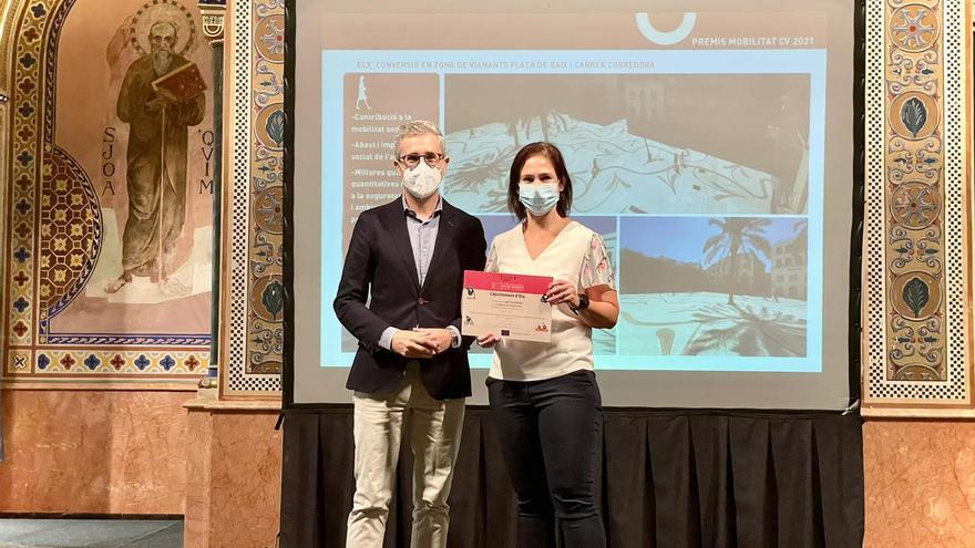 La Corredora peatonal se lleva el primer premio de la Semana Europea de la Movilidad