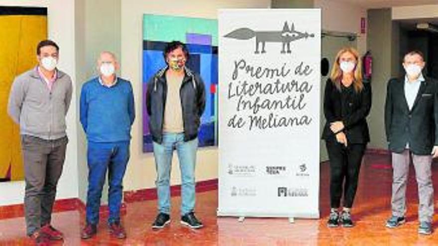 Díaz Cano gana el Premio de Literatura Infantil de Meliana