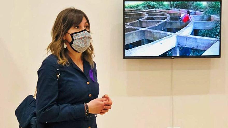 """El arte """"Sin límites"""" de Natalia Pastor viaja a una exposición en Cantabria"""