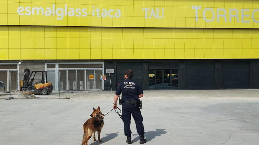 Denunciado en Vila-real por llevar droga en el interior de la mascarilla