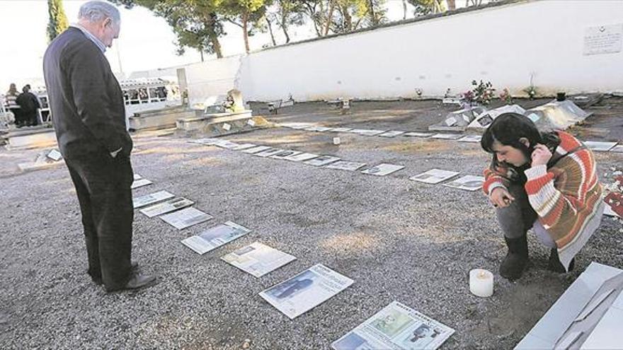 Castellón empieza a desenterrar su memoria y exhuma a tres fusilados