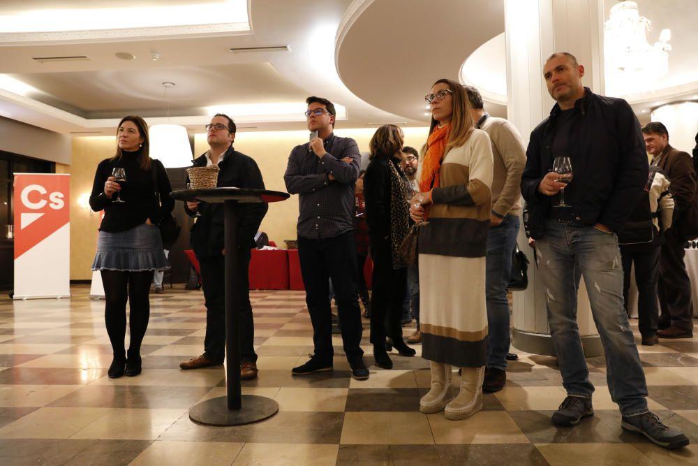 La amarga noche electoral de Ciudadanos en Asturia