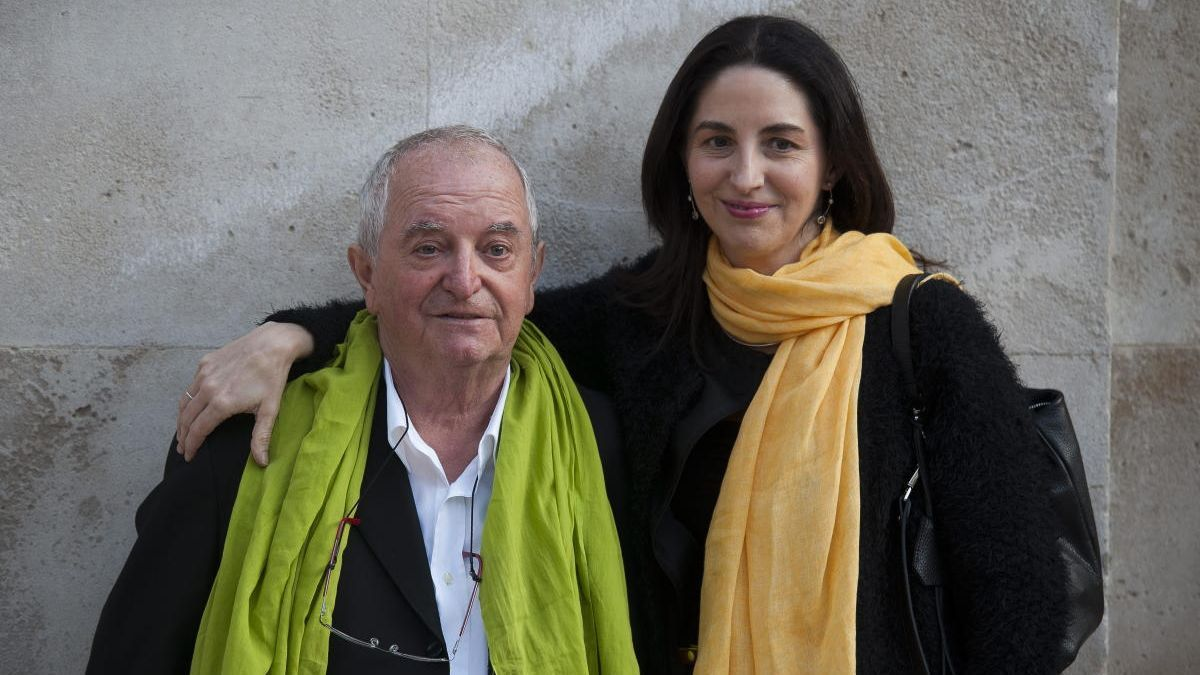 Juan Mari Arzak y su hija Elena en una imagen de archivo.