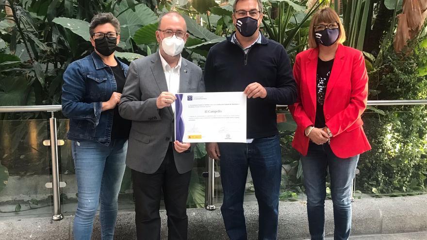 """El Campello recibe el certificado """"Sicted"""" del Ministerio por su calidad turística"""