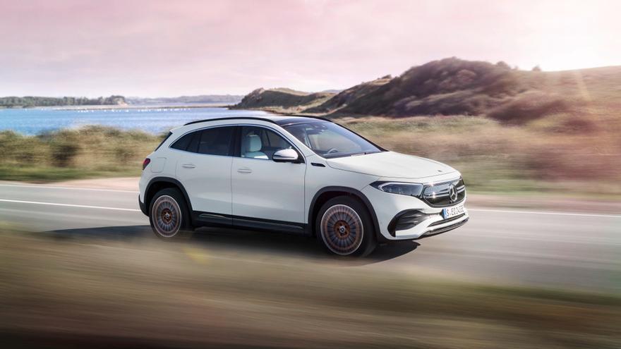 Mercedes-Benz EQA 2021: carácter eléctrico en formato GLA