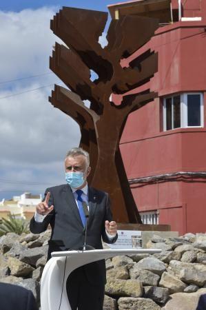 Acto de homenaje al sector sanitario en Telde