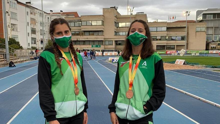Bronce nacional con Andalucía para Natalia Álvarez y Rocío Rodríguez